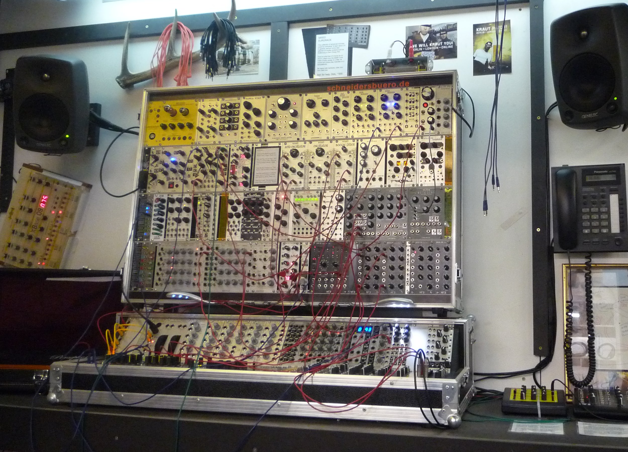 Modular London Stromkult Recording Studio Wiring