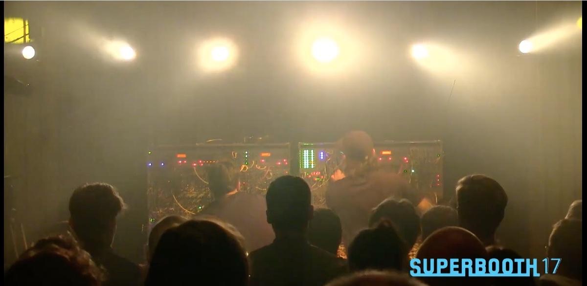 Ströme live at SUPERBOOTH17 for Doepfer Klangforschung