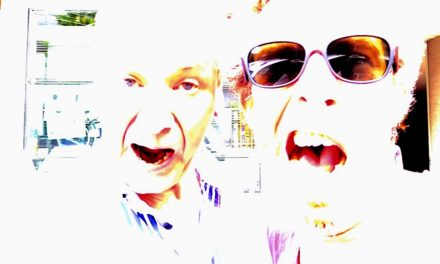 """Let's go beyond the maximum!"" Ken MacBeth and T.Raumschmiere"