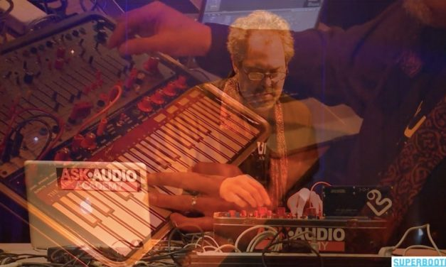 New 100 series available and Steve H with his Buchla at SUPERBOOTH17