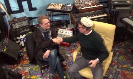 Schneider TM and Herr Schneider @Schneidersbuero talking about SUPERBOOTH17