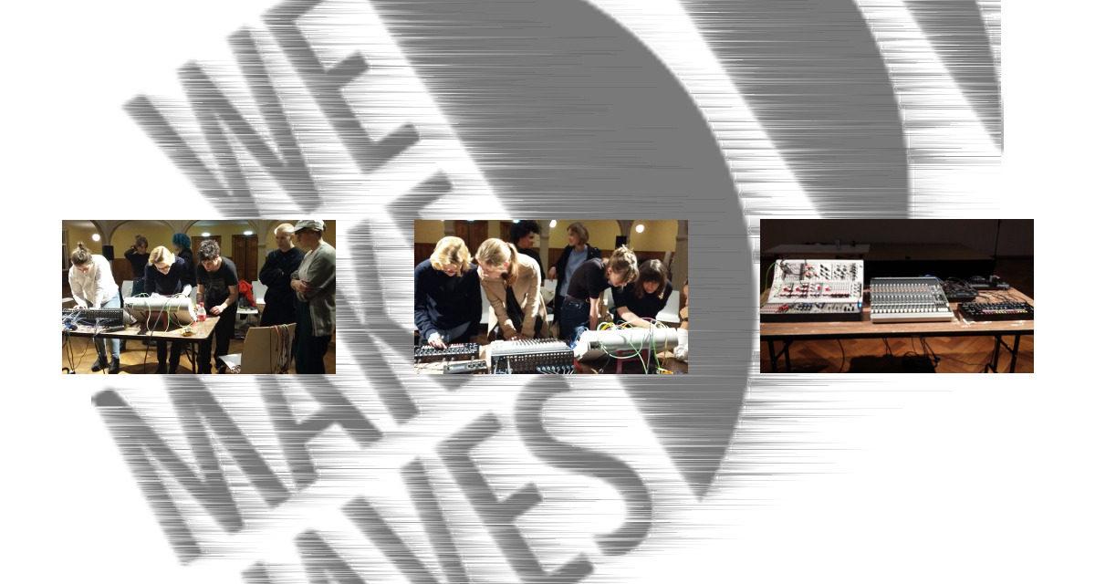 Modular Synthesizer Workshop at We Make Waves
