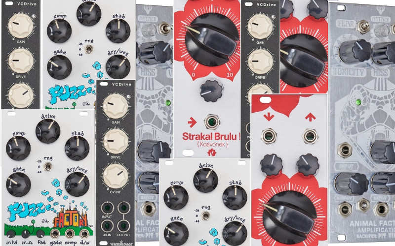 What about … Verzerrer? (distortion / overdrive / fuzz)