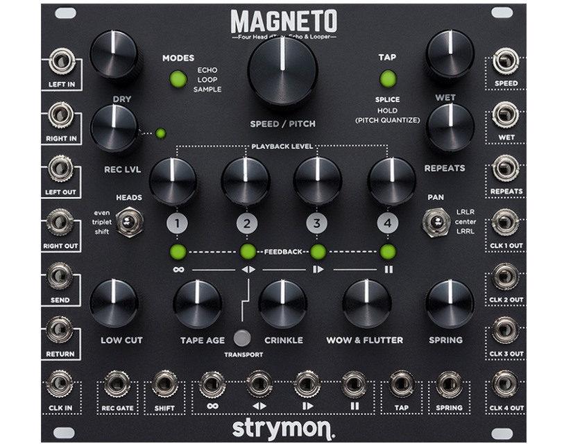 NAMM 2018 – Strymon Magneto