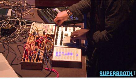 Skinnerbox performing @SUPERBOOTH17 – Gesprächskonzert for Endorphin.es