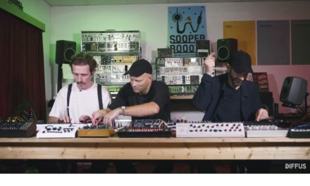 Video: WhoMadeWho interview with DIFFUS Magazin at Schneidersladen