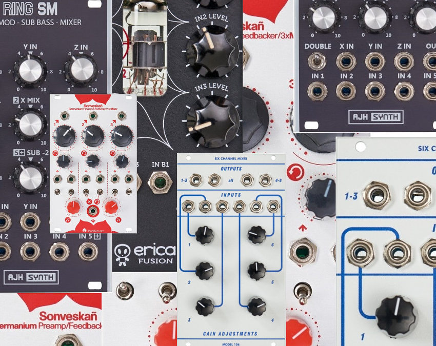 Erica Synths Fusion Mixer V3 EURORACK PERFECT CIRCUIT NEW