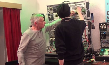 Video: Wowa Cwejman @Schneidersladen with his new Cwejman MBC-3 Multiband-Compressor
