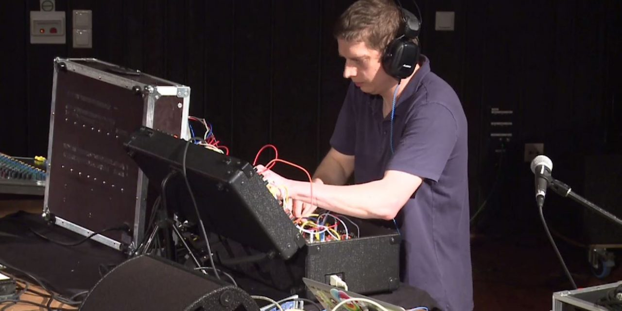 Radek Rudnicki's presentation of AJH Synth modules @SUPERBOOTH17