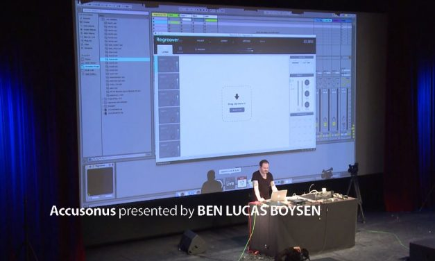 Regroove your audio files – Accusonus Regroover @SUPERBOOTH17