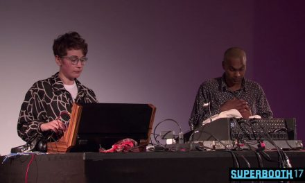 Alissa DeRubeis and Yasi Perera – experimental live performance @SUPERBOOTH17