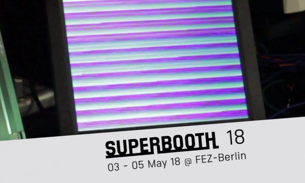 New SUPERBOOTH18 trailer!