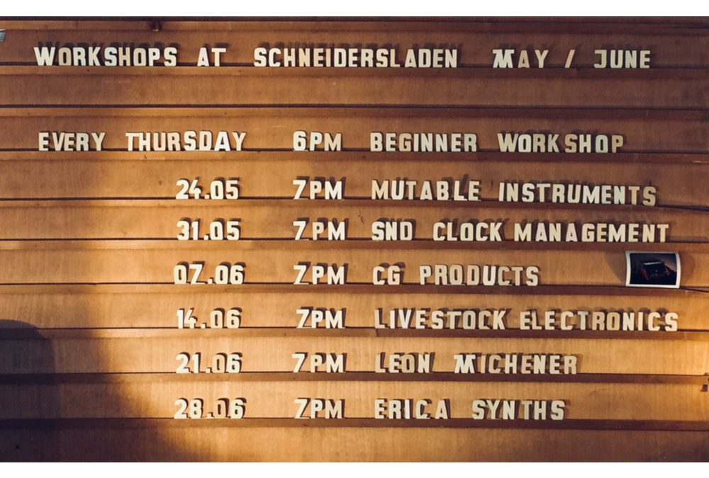 Need more BANG in your music? -> Livestock Electronics workshop – 7pm / June 14th! +Beginner Workshop