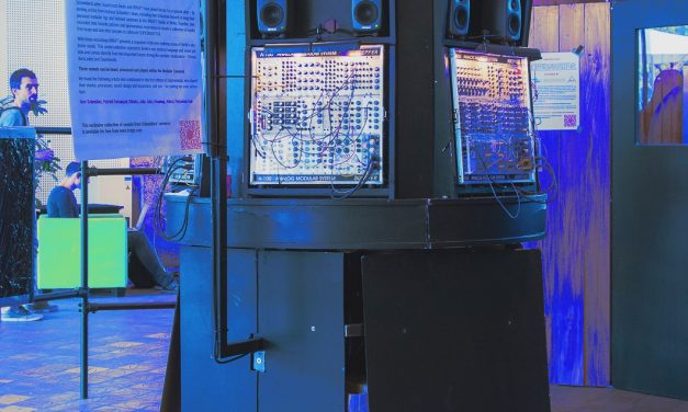 Deutschlandfunk radio about Elektronauten festival and Synth Carousel