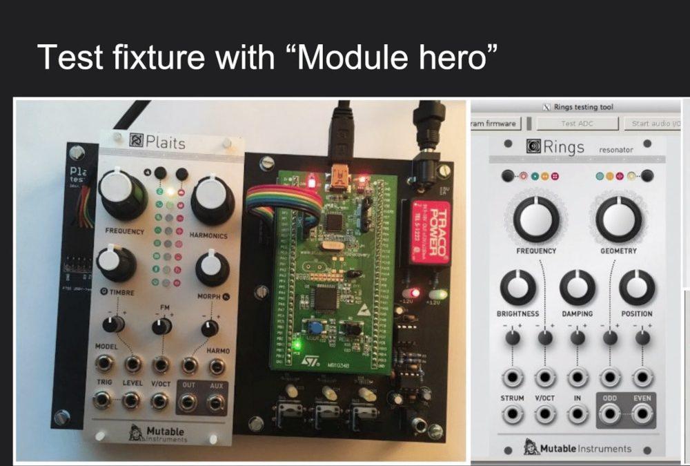 """""""playing Modular Hero"""" – with Mutable Instruments //workshop @SchneidersLaden"""