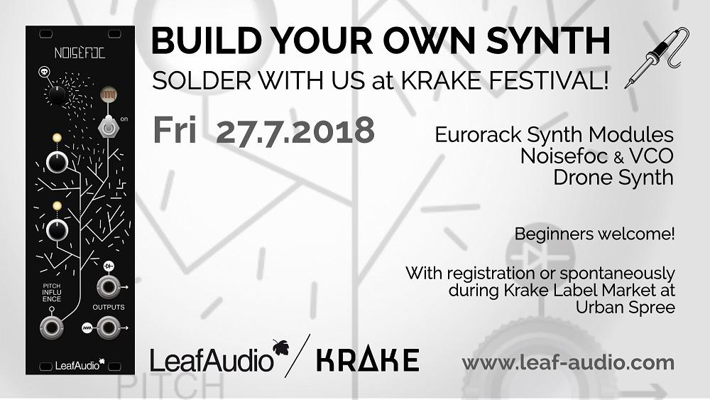 Leaf Audio - Krake 2018 FB Event