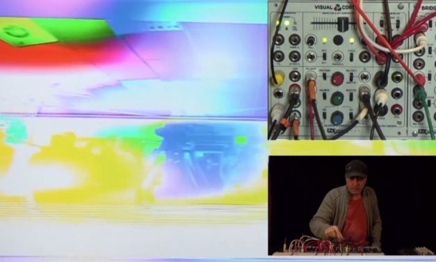 Video: Workshop on video synthesis – Stephane Lefrancois and the LZX Industries Visual Cortex