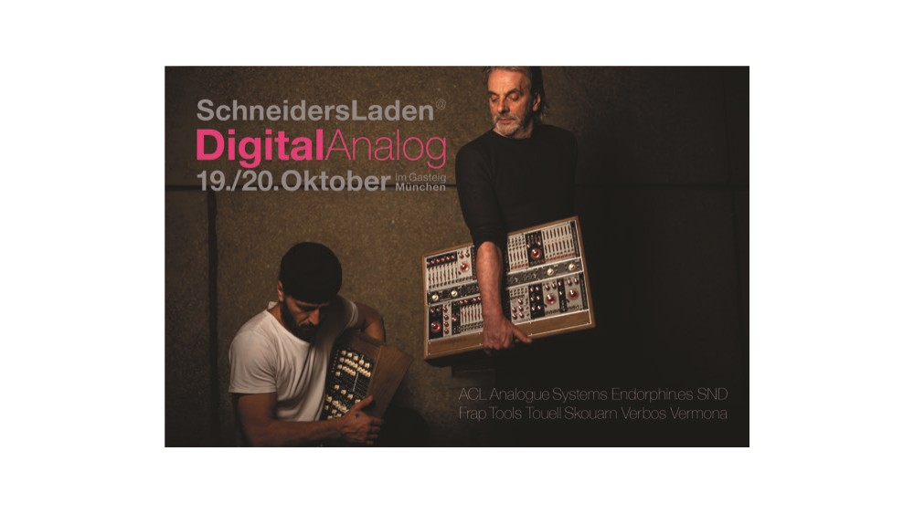 DigitalAnalog 2018 in Munich – with SchneidersLaden