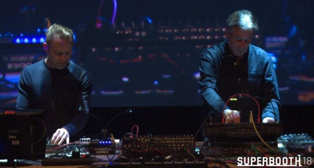 Max Loderbauer & Tobias Freund as NSI @SUPERBOOTH18