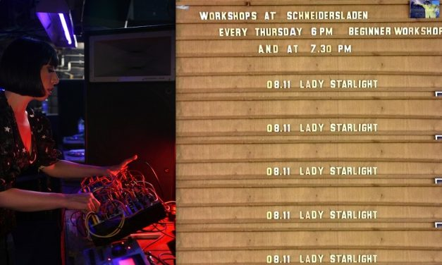 Workshop with Lady Starlight at SchneidersLaden