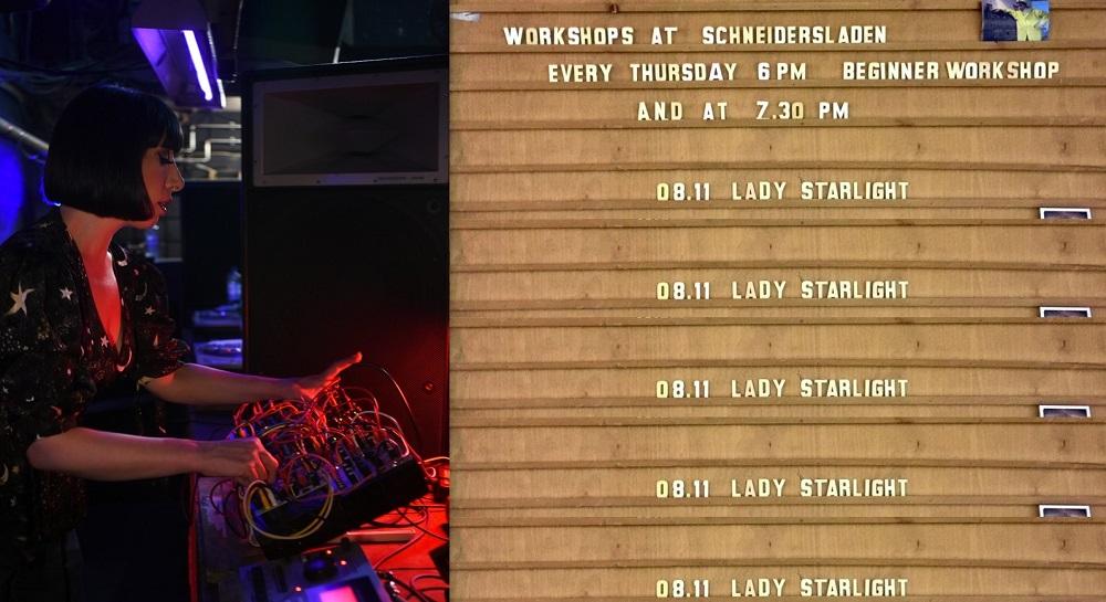 Workshop with Lady Starlight at SchneidersLaden