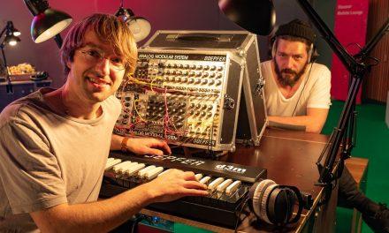 Modular at Musikmesse with Sacha K. & Tom K.