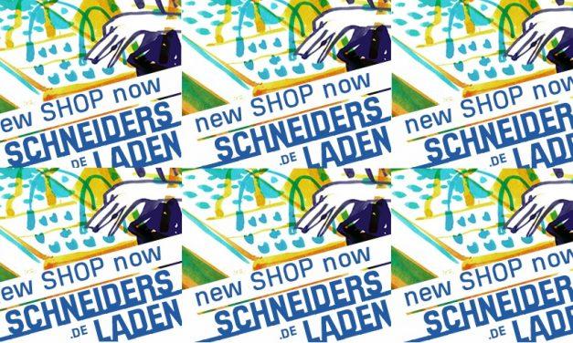 New webshop for SchneidersLaden!