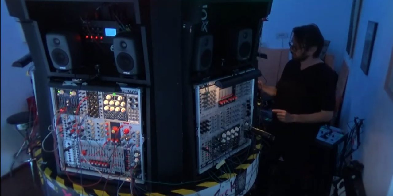 Robert Lippok and the Modular Karussell
