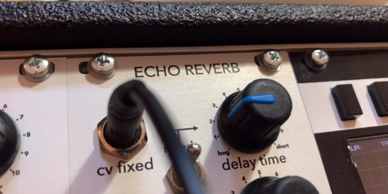 A look at the new Analogue Systems RS-650 Echo Reverb