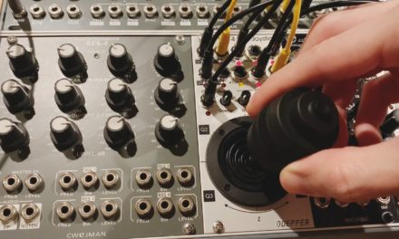 Video: The new Doepfer A-174-4 3D Joystick