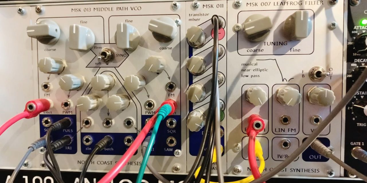 New video: North Coast Synthesis – MSK 013 Middle Path VCO